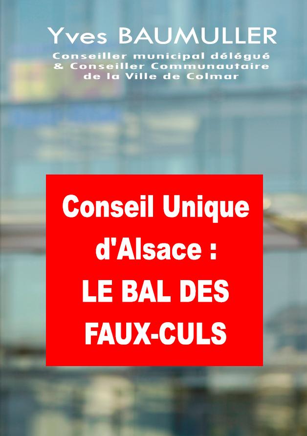 A 36 heures du Référendum prenez 1 heure pour lire : Conseil Unique d'Alsace, le bal des faux-culs dans Billet couv-def